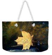 Leaf Afloat Weekender Tote Bag