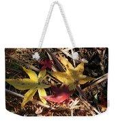 Leaf Collage Weekender Tote Bag