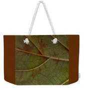 Leaf Design I Weekender Tote Bag