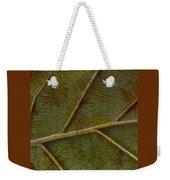 Leaf Design II Weekender Tote Bag