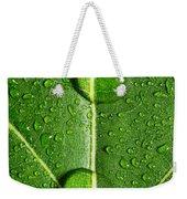 Leaf Dew Drop Number 10 Weekender Tote Bag