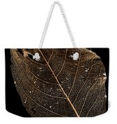 Leaf Lace Weekender Tote Bag