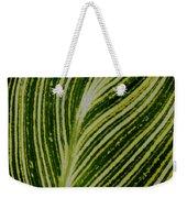 Leaf Lines Weekender Tote Bag