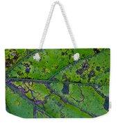 Leaf Macro Weekender Tote Bag