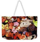 Leaf Patterns 2 Weekender Tote Bag