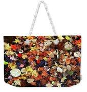 Leaf Patterns 3 Weekender Tote Bag