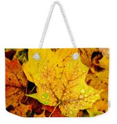 Leaf Portait 1 Weekender Tote Bag