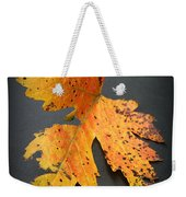 Leaf Portrait Weekender Tote Bag