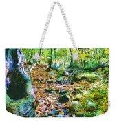 Leaf Stream Weekender Tote Bag