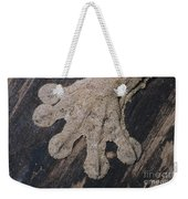 Leaf-tailed Gecko Foot Weekender Tote Bag