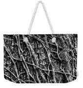 Leafless Ivy Weekender Tote Bag