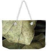 Leafpile 2 Weekender Tote Bag