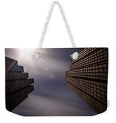Lean Into The Light Weekender Tote Bag