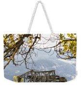 Lean To - Mormon Row - Grand Tetons Weekender Tote Bag