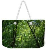Leaning Into The Light Weekender Tote Bag