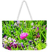 Leaning Into The Sun Weekender Tote Bag