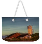 Leaning Silo  Weekender Tote Bag by Bill Gallagher