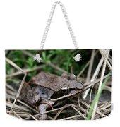 Wood Frog  Weekender Tote Bag