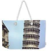 Leaning Tower Weekender Tote Bag