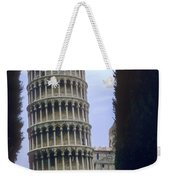 Leaning Tower Of Pisa Weekender Tote Bag