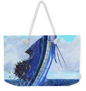Leap Of Freedom Off0048 Weekender Tote Bag