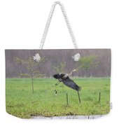 Leaping Flight Weekender Tote Bag