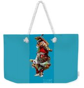 Leaping Into The Air Weekender Tote Bag