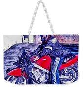 Learn How To Ride Weekender Tote Bag