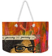 Learning From Yesterday - Journal Art Weekender Tote Bag