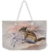 Least Chipmunk #2 Weekender Tote Bag