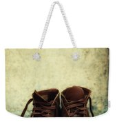 Leather Children Boots Weekender Tote Bag