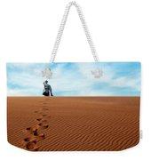 Leave Only Footprints Behind.. Weekender Tote Bag