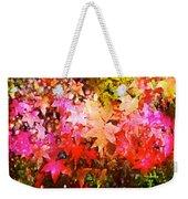 Leaves 11 Weekender Tote Bag