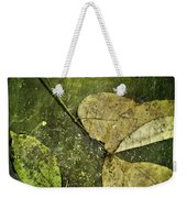 Leaves Afloat Weekender Tote Bag