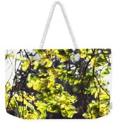 Leaves Blowing Weekender Tote Bag