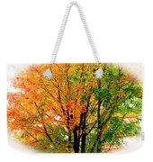 Leaves Changing Colors Weekender Tote Bag