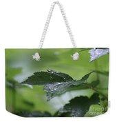 Leaves In The Rain Weekender Tote Bag