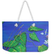 Leaves In The Wind Weekender Tote Bag