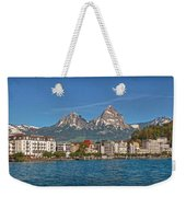 Leaving Brunnen Weekender Tote Bag