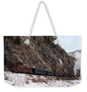 Leaving Cascade Canyon Weekender Tote Bag