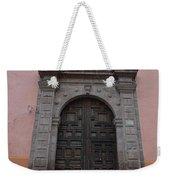Leaving Church Lighthearted Weekender Tote Bag