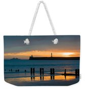 Leaving Port Weekender Tote Bag