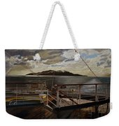 Leaving Queen Charlotte Sound Weekender Tote Bag