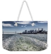 Leaving San Francisco Weekender Tote Bag