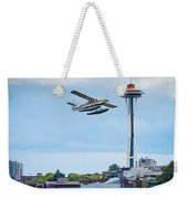 Leaving Seattle Weekender Tote Bag