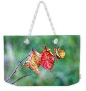 Leaving Summer Behind Weekender Tote Bag