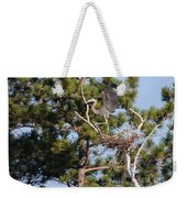 Leaving The Nest Weekender Tote Bag