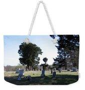Lebanon Cemetery Oklahoma Weekender Tote Bag