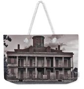 Louisiana Plantation House Weekender Tote Bag