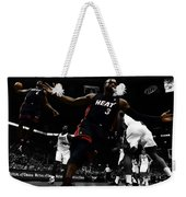 Lebron And D Wade Showtime Weekender Tote Bag